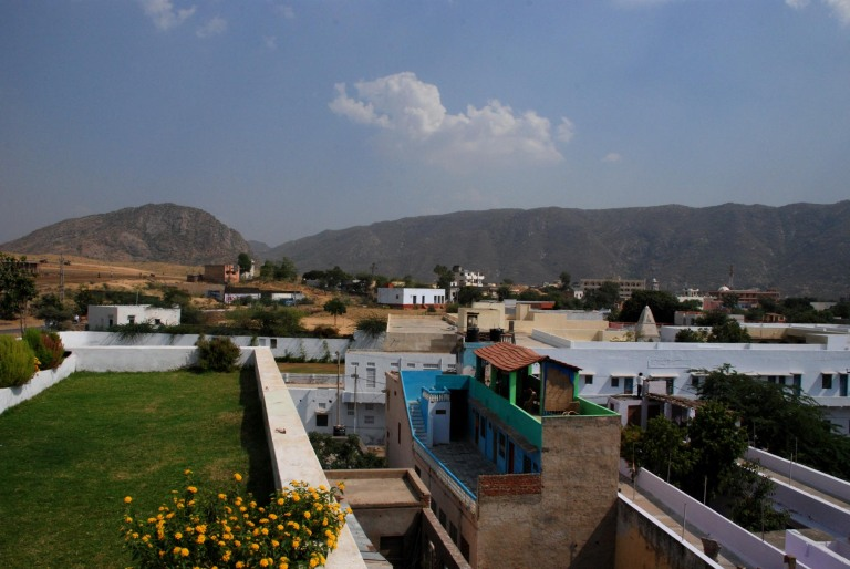 Pushkar from the terrace