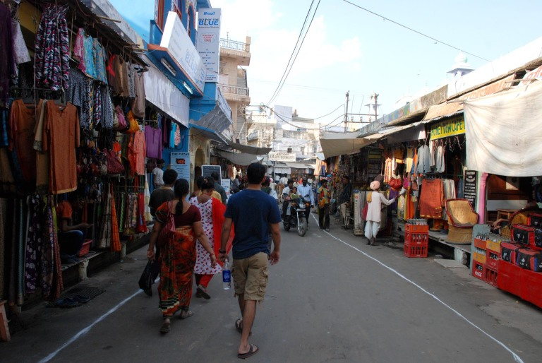 The Pushkar Bazaar