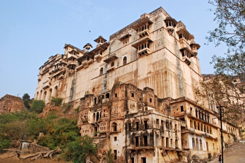 Something Mehrangarh-ish about this