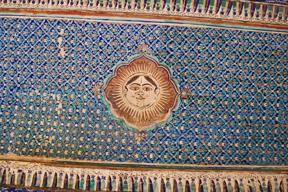 Chitrashala ceiling
