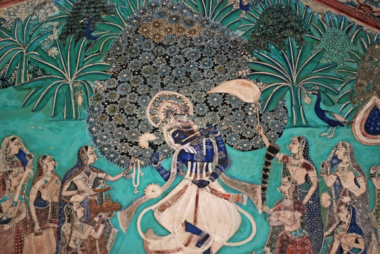 Krishna with his gopis