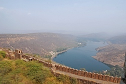 Jait Sagar, on the other side of the ridge