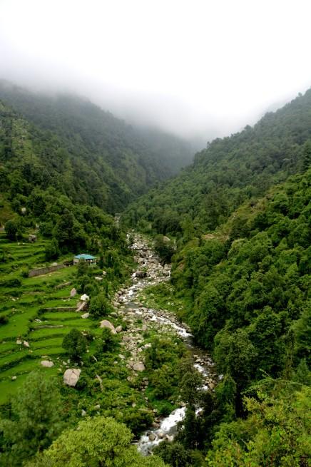 Beyond Naddi. Babbling by a brook