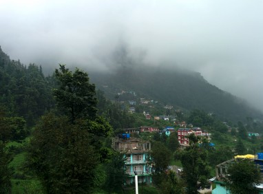 One last look at Dharamkot before i leave.
