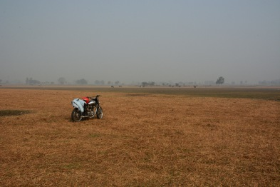 We reach our destination. A massive open grassland the likes of which I never thought existed so close to Delhi