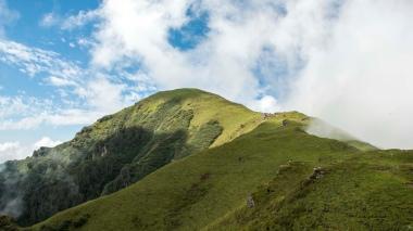 The Chandrakhani Pass ridge