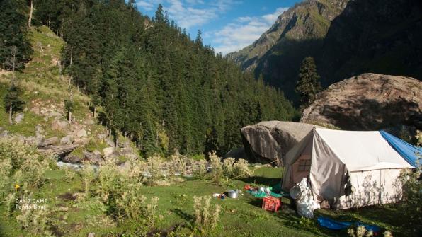 A stunning campsite