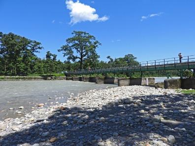Bridge over the river Murty