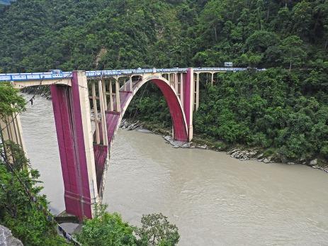 The bridge deserves a better colour
