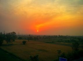 Farmlands opposite Mayur Vihar