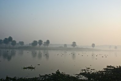 A human's eye view of the habitat at Surajpur