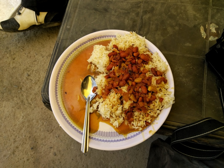 Rajma Chawal at 4300 m
